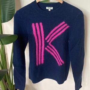Kenzo Paris Wool Knit Crewneck Sweater